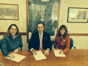 Cos Cob CG lease signing 2-24-14